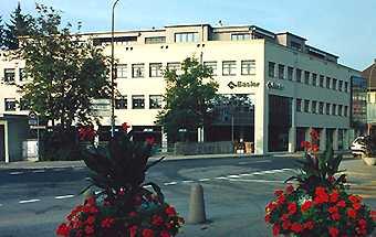 Basler-Gebäude Marktplatz 14/16 Lyss